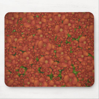 Red Field Mouse Pad