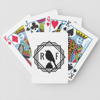 Red Finch Designs logo Bicycle Playing Cards
