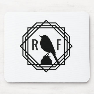 Red Finch Designs logo Mouse Pad