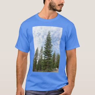 Red Fir Trees on Mt Shasta Men's T-shirt