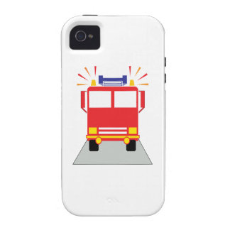 Red Fire Engine Case-Mate iPhone 4 Covers