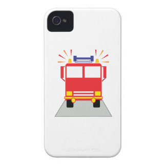 Red Fire Engine iPhone 4 Cover