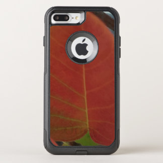 Red Fire Leaf OtterBox Commuter iPhone 8 Plus/7 Plus Case