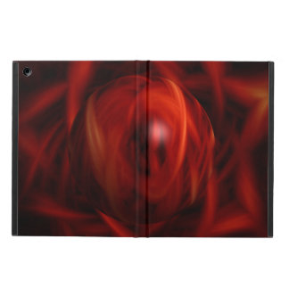 Red Fire Sphere iPad Air Cover