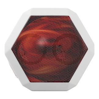 Red Fire Sphere White Bluetooth Speaker