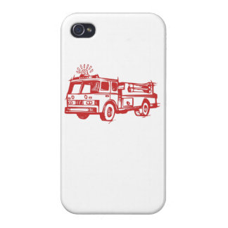 Red Fire Truck iPhone 4/4S Covers