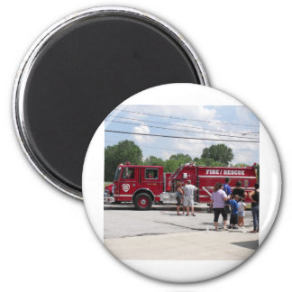 Red Fire Truck Magnet