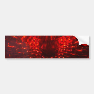 RED FIREBALL Bumper Sticker