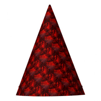 RED FIREBALL Party Hat