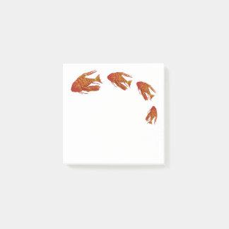 Red Fish Aquarium Post-it Notes