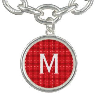 Red Flannel Monogram