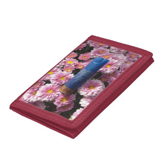 Red Floral Ammo Shell Wallet