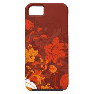 Red Floral Arrangements Tough iPhone 5 Case