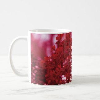 Red Floral Branch Mug
