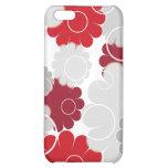 Red florals - iPhone iPhone 5C Cases