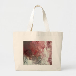 Red Flow Large Tote Bag