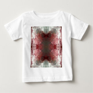 Red Flow Pattern Baby T-Shirt