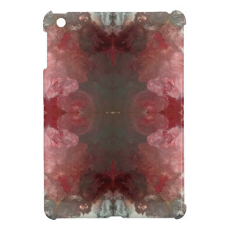 Red Flow Pattern Cover For The iPad Mini