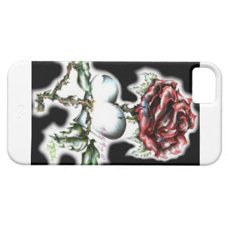Red Flower Cover For iPhone 5/5S