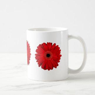 Red FLower Classic White Coffee Mug