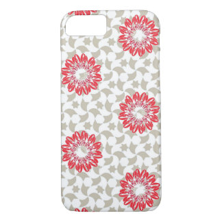 Red flower iPhone 7 case