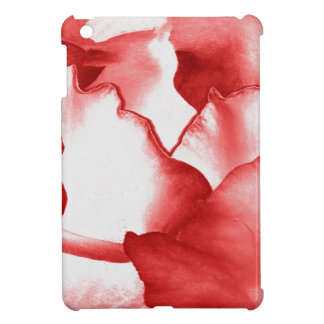 Red Flower Petals Cover For The iPad Mini