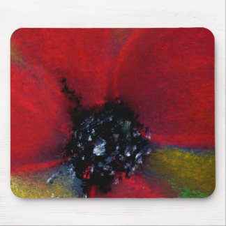 Red Flower, Poppy. Mouse Pad