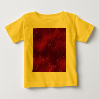 red flowing star nebula baby T-Shirt
