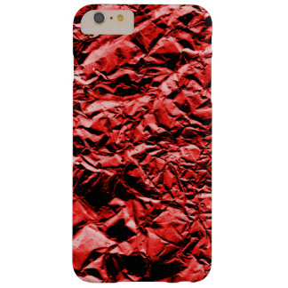 Red Foil #2 Barely There iPhone 6 Plus Case