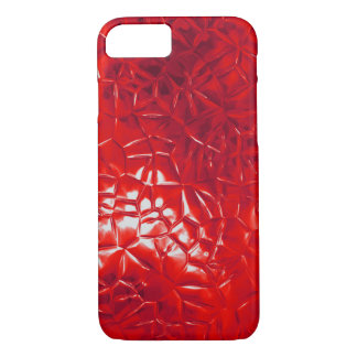 red foil abstract iPhone 8/7 case
