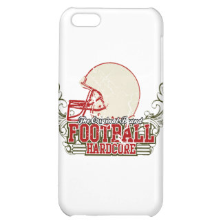 Red Football Hardcore and Gifts Case For iPhone 5C