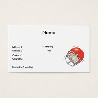 red football helmet