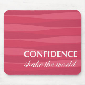 Red for Confidence Mousepads