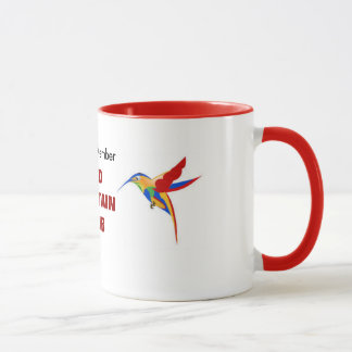 Red Fountain Club Mug