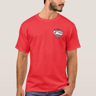 Red Four Corners FC Shirt