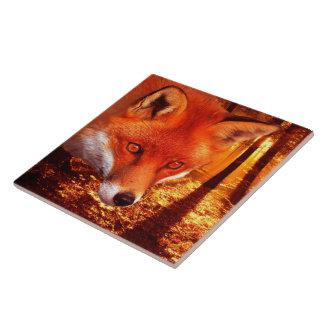 Red Fox Ceramic Tile