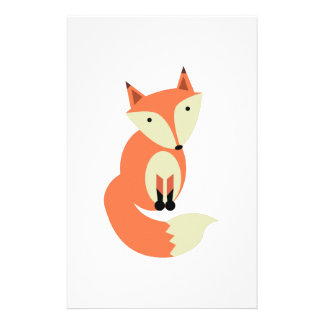 Red Fox Customised Stationery
