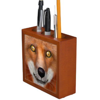 Red Fox Desk Organiser