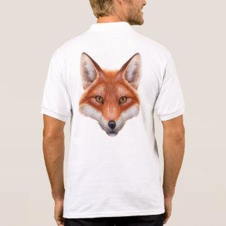 Red Fox Face Polo Shirt