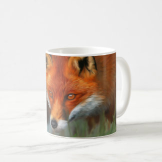 Red Fox Full Animal Mug