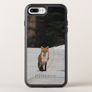 Red Fox in Snow Animal OtterBox Symmetry iPhone 7 Plus Case