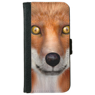 Red Fox iPhone 6 Wallet Case