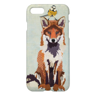 Red Fox & Little Bird iPhone 7 Case