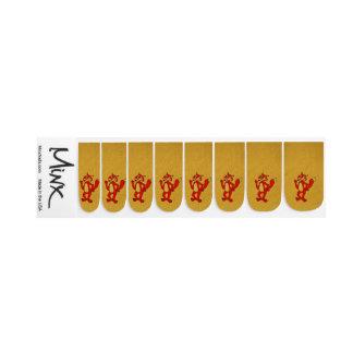 Red Fox Minx Nail Art