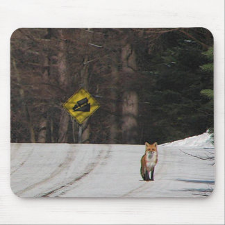 Red Fox on Hilltop Mouse Pad