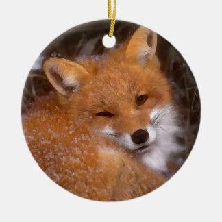 """""""Red Fox"""" Ornament"""