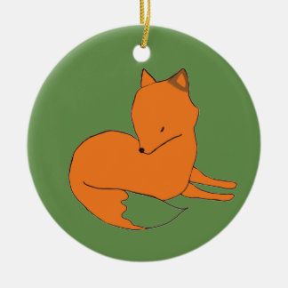 Red Fox  Ornament Fox