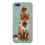 Red Fox & Owl iPhone Case