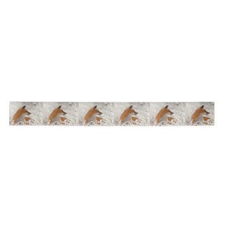 Red Fox Satin Ribbon