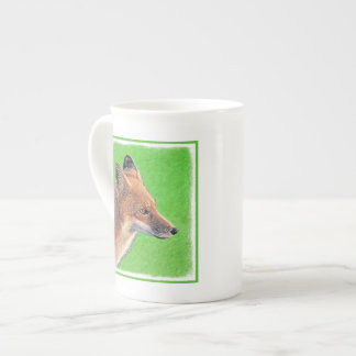 Red Fox Tea Cup